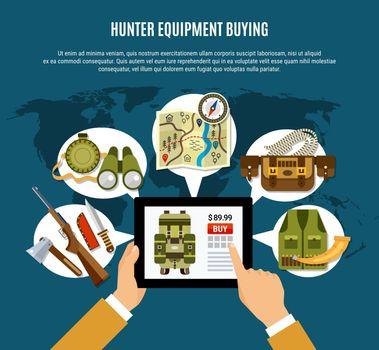 Hunter Equipment Composition