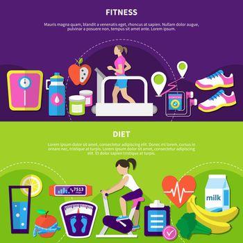 Fitness Horizontal Banners