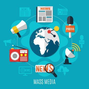 Mass Media Design Concept