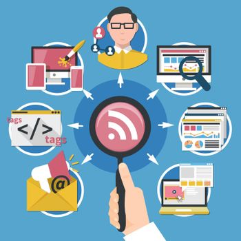 Internet Marketing Concept