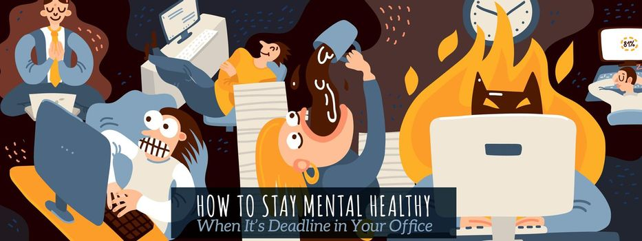 Office Work Illustration