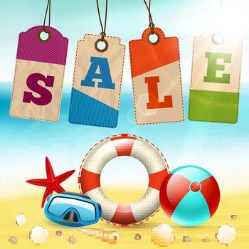 Summer sale wallpaper
