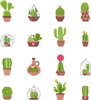 Cactus Icons Set