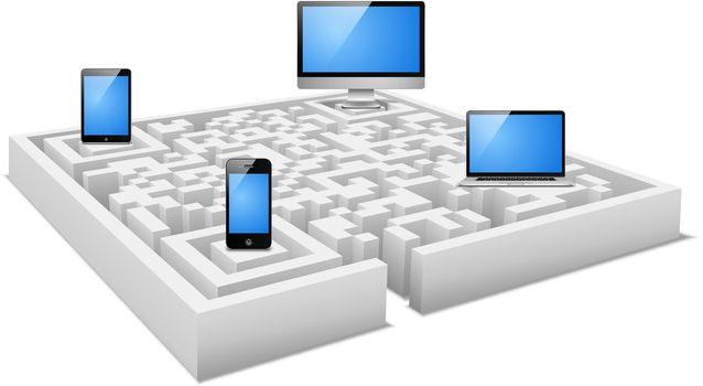 digital labyrinth