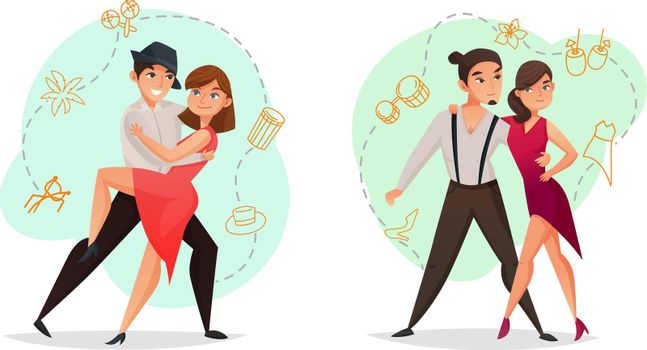 Pair Dance 2 Templates Set