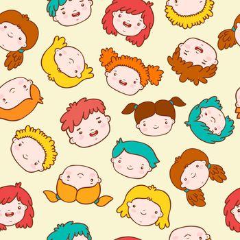 Doodle kids background