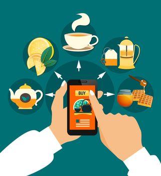 Tea Buying Online Composition