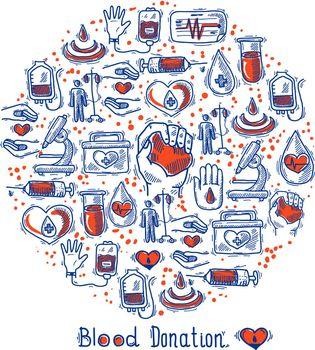 Donor Icons Circle