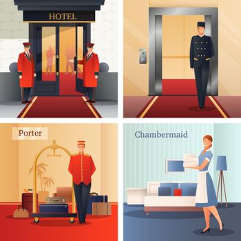 Hotel Staff Design Concept