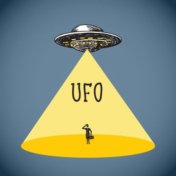 Ufo poster sketch