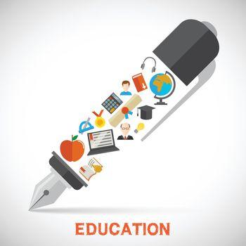 Education pen concept