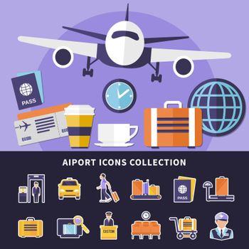 Airport Icons Collection