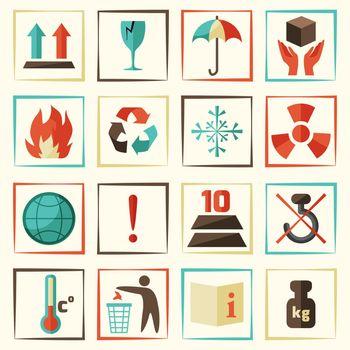 Packing Symbols Set