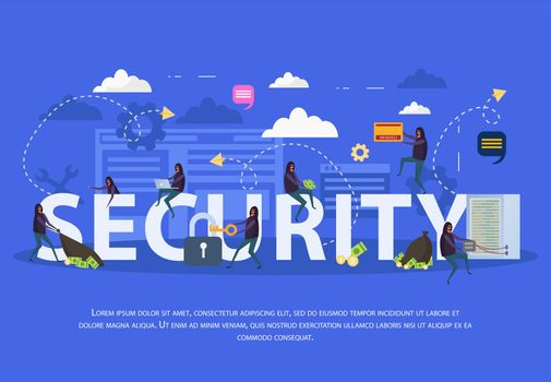 Cyber Security Flat Composition