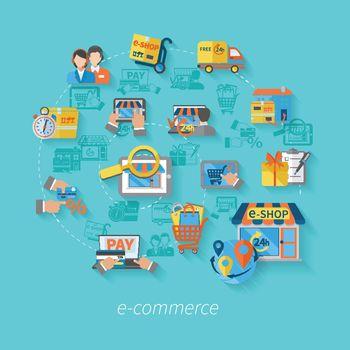 Shopping E-commerce Concept