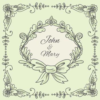 Wedding Wreath Sketch