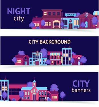City banner horizontal