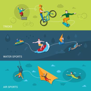 Extreme Sports Banners