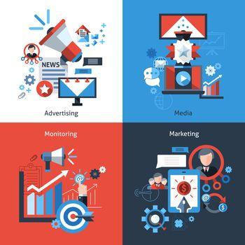 Advertising Marketing Set