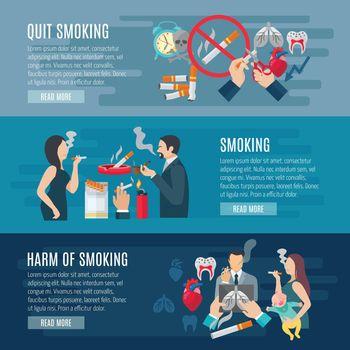 Smoking Banner Set
