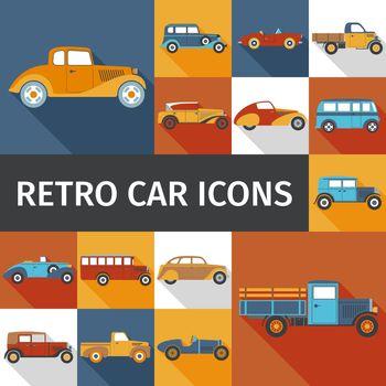 Old Cars Set