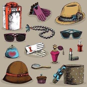 Women's accessories set