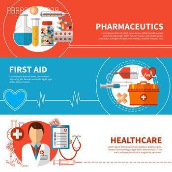 Horizontal Medical Banners
