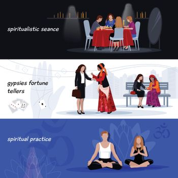 Hypnotism Extrasensory Banner Set