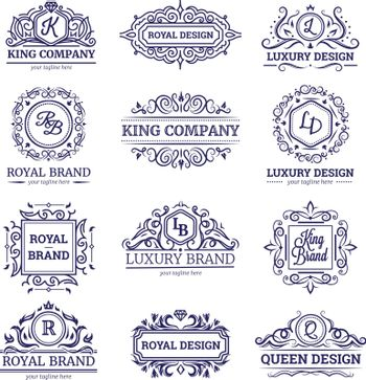 Luxury Labels Monochrome Set
