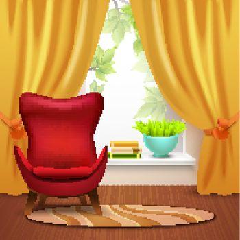 Room Interior Illustration