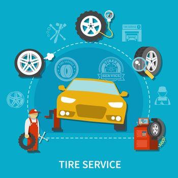 Tire Service Concept