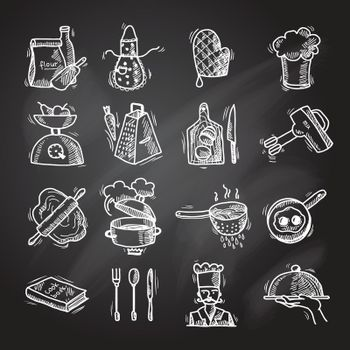 Cooking icons sketch