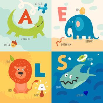 Children Alphabet Concept