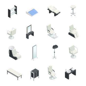 Beauty Salon Elements Set