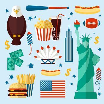 New York USA set