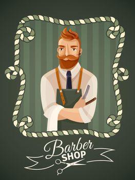 Barbershop Poster Template