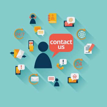 Contact us background