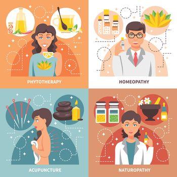 Alternative Medicine 2x2 Design Concept