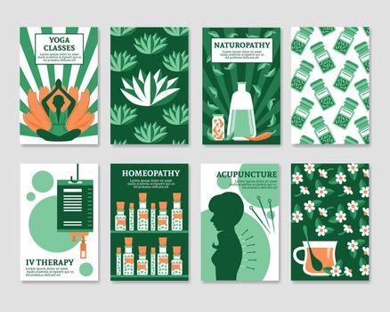 Alternative Medicine Cards Set