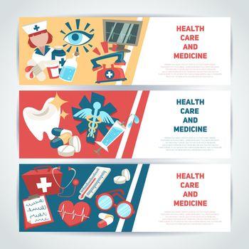 Medical horizontal banners