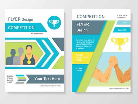 Sports Competition Flyer Template