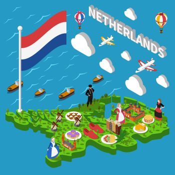 Netherlands Tourist Map