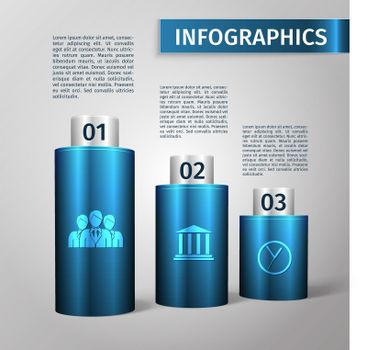 Infographic 3d template