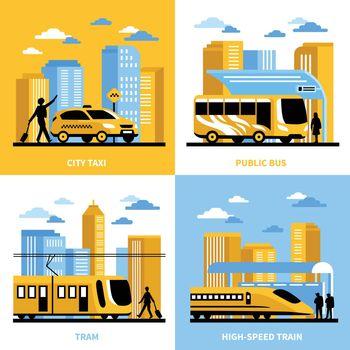 City Transportation 2x2 Design Concept