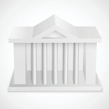 Bank icon building