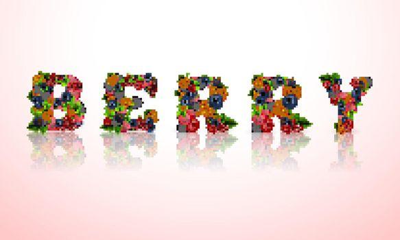 Berry word emblem