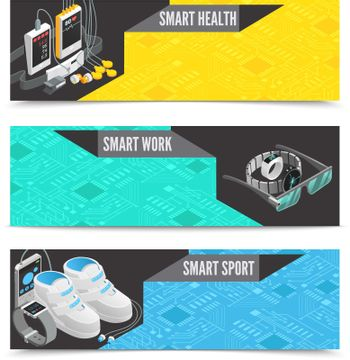 Wearable technology banners