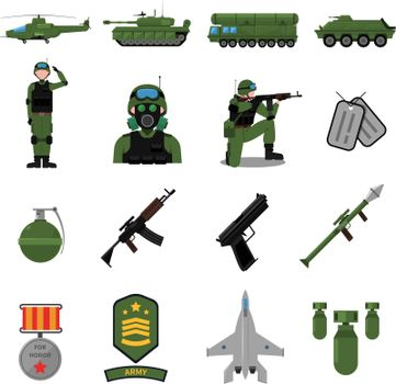 Army Icons Set