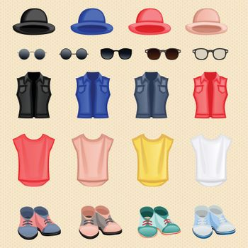 Hipster girl accessories