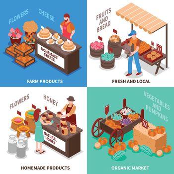 Greengrocer Market Compositions Set